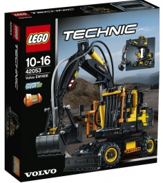 Lego Super Technic Экскаватор Volvo EW 160E 42053