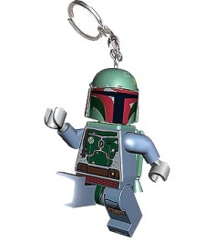 Брелок фонарик Lego Звездные войны Боба Фетт LGL-KE19