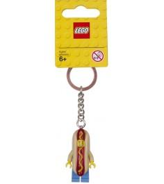 Брелок для ключей Lego Парень с хот догом