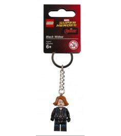 Брелок для ключей LEGO Super Heroes Черная вдова