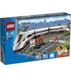 Lego City cкоростной пассажирский поезд 60051