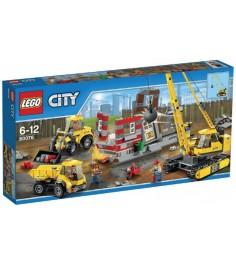 Lego City Снос старого здания 60076