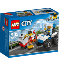 Lego City Полицейский квадроцикл 60135