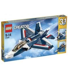Lego Creator синий реактивный самолет 31039