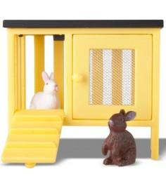 Набор для кукольного домика Lundby Смоланд Кролики и домик LB_60805600