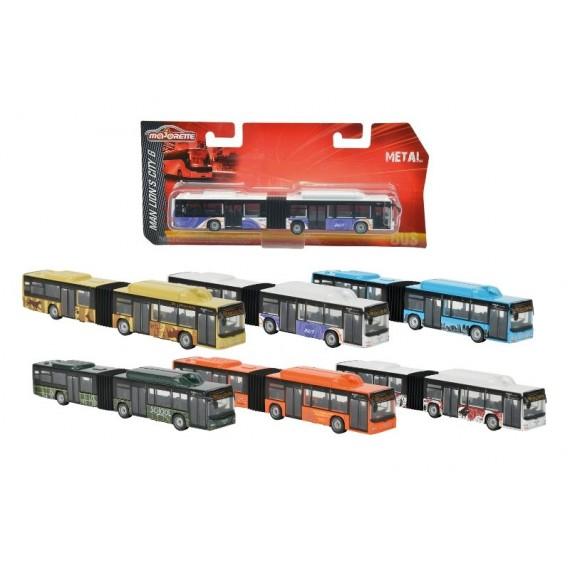 Majorette Городской Автобус голубой 2053181