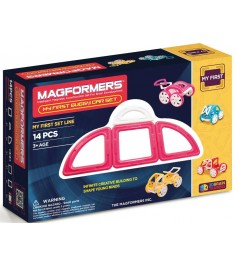 Magformers My First Buggy розовый 63147/702008