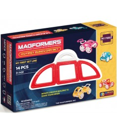 Magformers My First Buggy красный 63145/702006