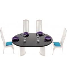 Набор мебели для столовой Огонек конфетти С-1332