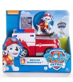 Игрушка щенячий патруль Машинка спасателя и щенок Маршал 16601-Mar