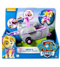 Игрушка щенячий патруль Машинка спасателя и щенок Скай 16601-Sky