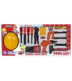 Набор инструментов Pilsan с каской 3249plsn