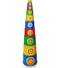 Детская пирамидка Пластмастер Матрешка 92016
