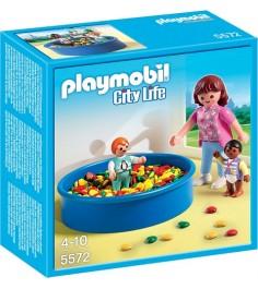 Playmobil Детский сад Игровая площадка с шариками 5572pm