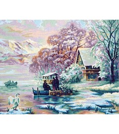 Schipper Горное озеро зимой 9130700