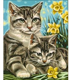 Schipper Кошка с котенком 9240437