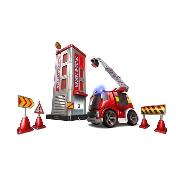 Детская игрушки на радиоуправлении Silverlit Потуши горящее здание 81137