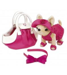 Собачка Chi Chi Love Чихуахуа в розовом платье и сумочке 5894229