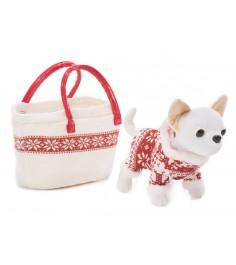 Собачка Chi Chi Love Зимний стиль в зимнем костюмчике с сумочкой 5894845