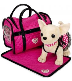 Розовая мечта в платье с пледом и сумкой 5899700