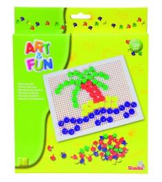 Мозаика Simba Art Fun из 130 цветных деталей 6302961