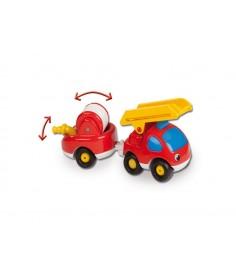 Машинка Smoby пожарный грузовик и прицеп 211061