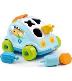 Сортер Smoby Автомобиль с фигурками голубой 211323