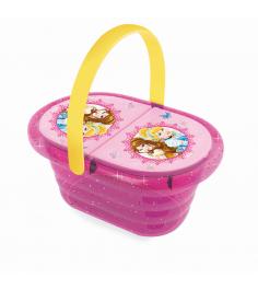Набор посудки в корзинке Принцессы Диснея Smoby 24034