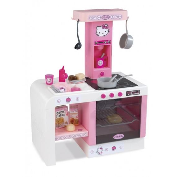 Кухня Smoby miniTefal Cheftronic Hello Kitty 24195