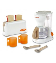 Набор тостер и кофеварка Smoby Tefal 24550