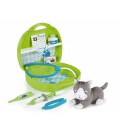 Набор доктора ветеринара Smoby с котенком 24657