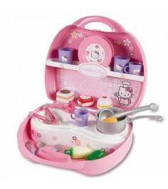 Кухня Smoby Hello Kitty Мини в чемоданчике 24782