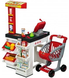 Супермаркет с тележкой Smoby 350203