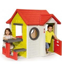 Детский домик Smoby со столом 810401