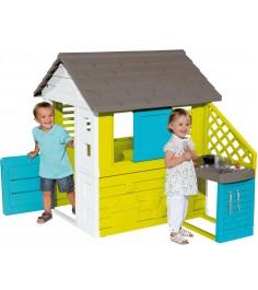 Детский домик Smoby с кухней 810703