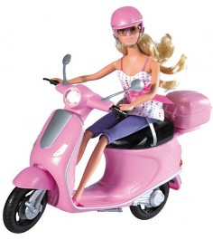 Steffi love на скутере 5730282
