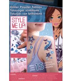 Style Me Up Сверкающие татуировки из пудры 551
