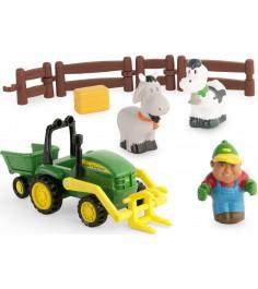 Набор TOMY набор моя первая ферма с погрузчиком 43068