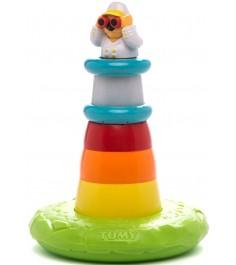 Игрушка для ванной TOMY пирамидка маяк E72194