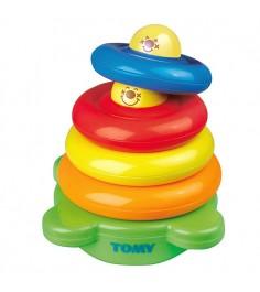 Игрушка TOMY Веселая Пирамидка E6634