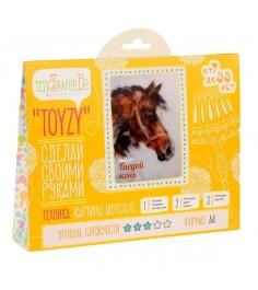 Toyzy Гнедой конь TZ-P001