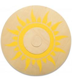 Деревянный щит круглый ЯиГрушка 7304