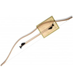 Деревянный набор: лук и стрелы ЯиГрушка 7305