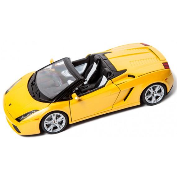 Модель автомобиля Bburago 1 18 lamborghini gallardo spyder 18-12016