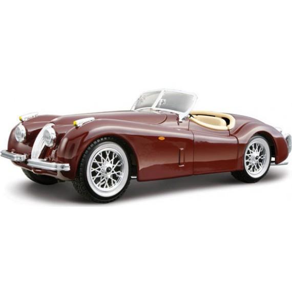 Модель автомобиля Bburago 1 24 jaguar xk 120 roadster 1951 18-22018