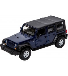 Модель автомобиля Bburago 1 32 jeep wrangler unlimited rubicon 18-43012...