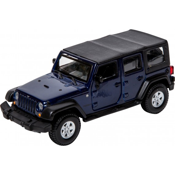Модель автомобиля Bburago 1 32 jeep wrangler unlimited rubicon  18-43012