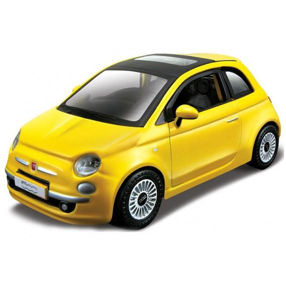 Модель автомобиля Bburago 1 32 new fiat 500 2008 год 18-45120