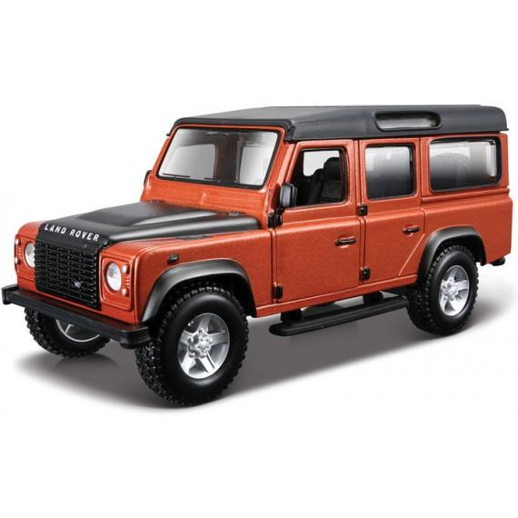 Модель автомобиля Bburago 1 32 land rover defender 110 18-45127