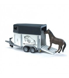 Коневозка с лошадью Bruder 02-028
